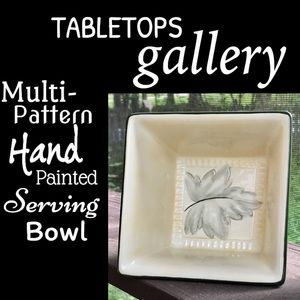 ▪️GALLERY▪️Hand Painted KINGSWOOD Autumn Bowl